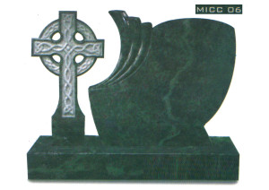 Tropical Green Celtic Cross