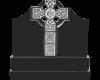 Black Granite Celtic Cross