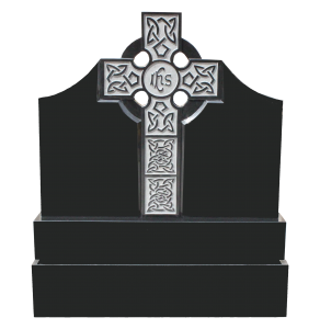 Black Granite Celtic Cross