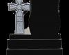 Black Granite Celtic Cross design