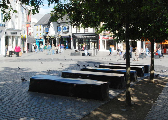 Granite Benches in Waterford